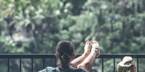 Makkelijke ontspanningsoefening-lummelen