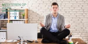 Geleide meditatie werk